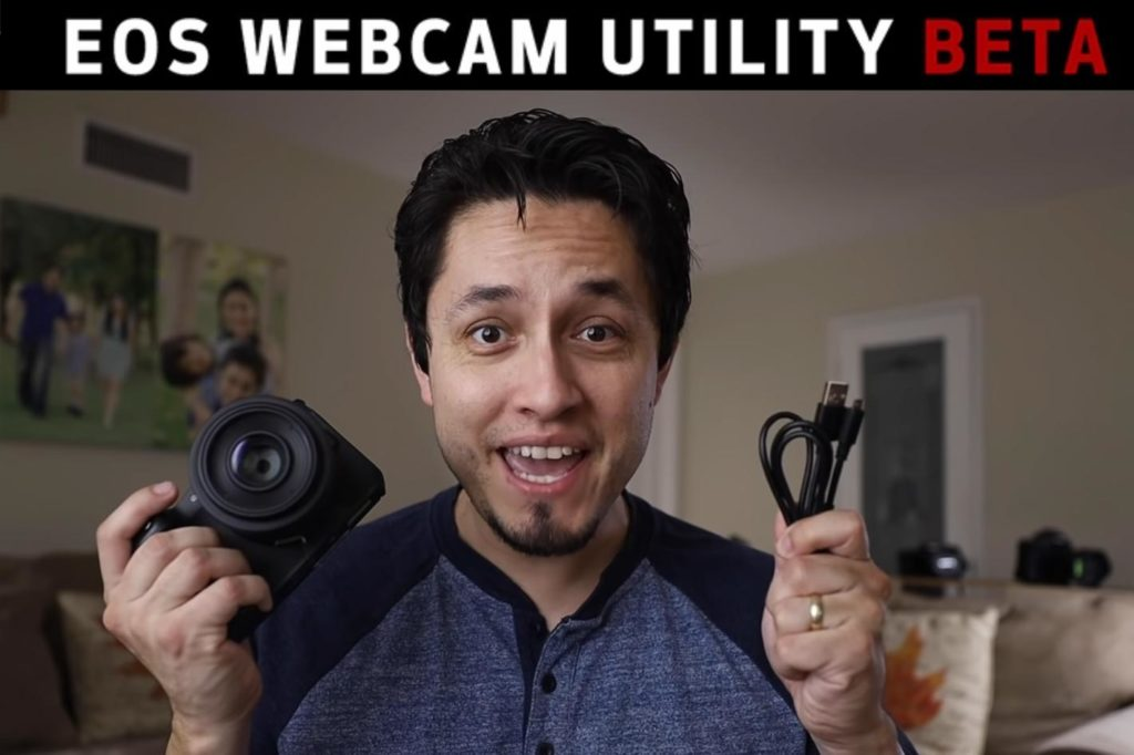 How to use your Canon EOS camera as a high-quality webcam