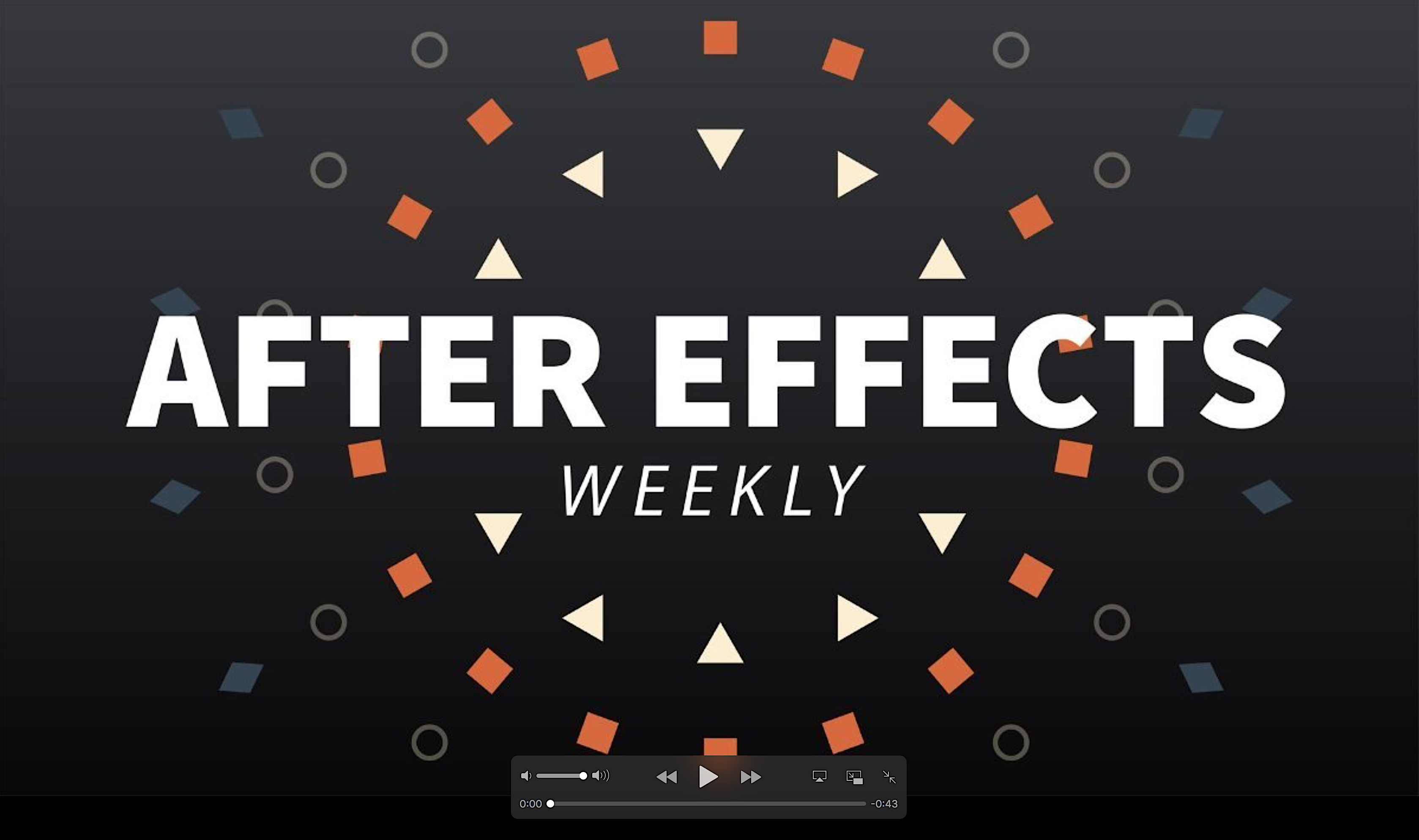 After Effects News 2018 October #1 2