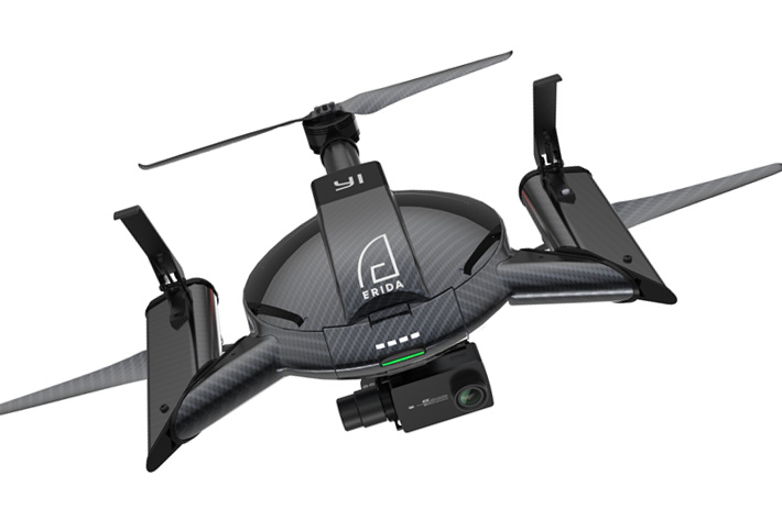 YI Erida: new 4K drone taking off soon