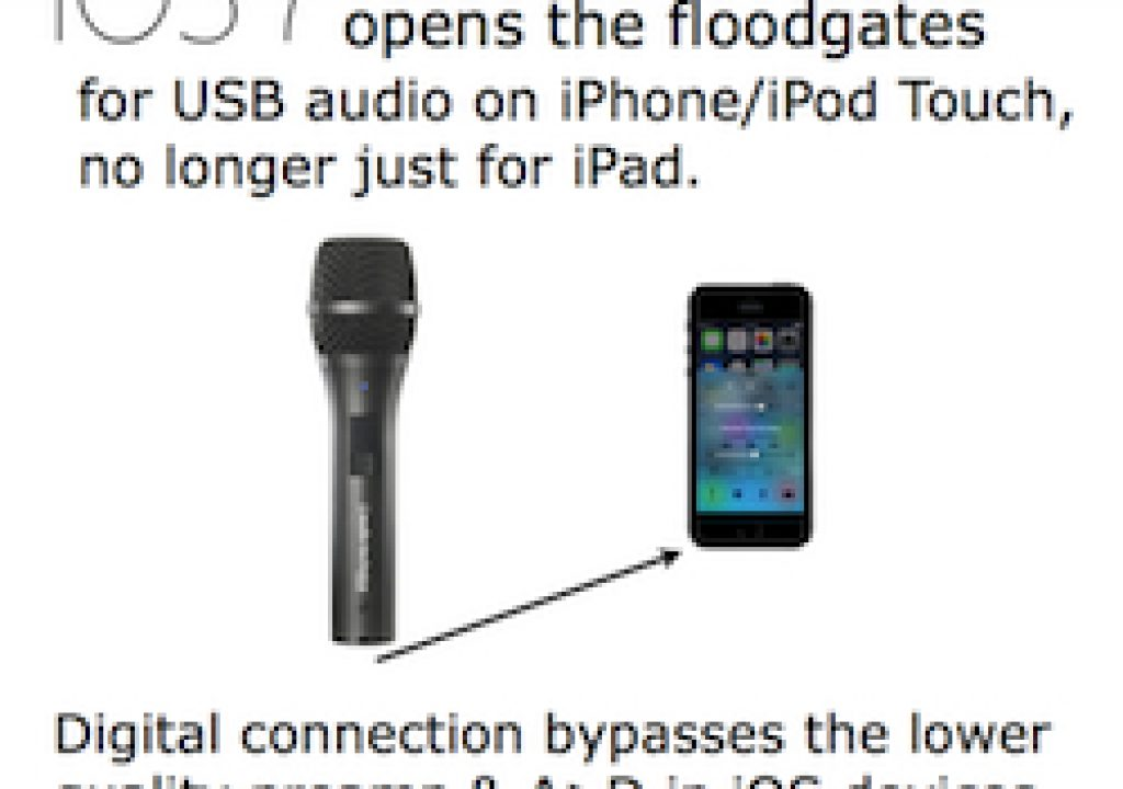iOS 7 expands digital USB audio use with iPhone/iPod Touch 13