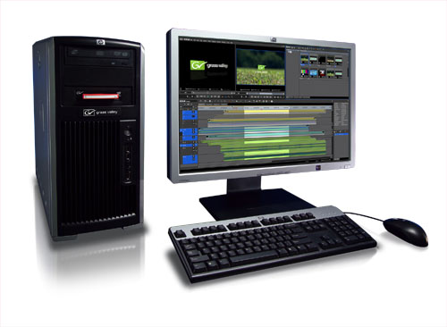 Grass Valley's EDIUS 6 Demonstrated at Intel's 2nd Generation Core Processor Press Conference 1