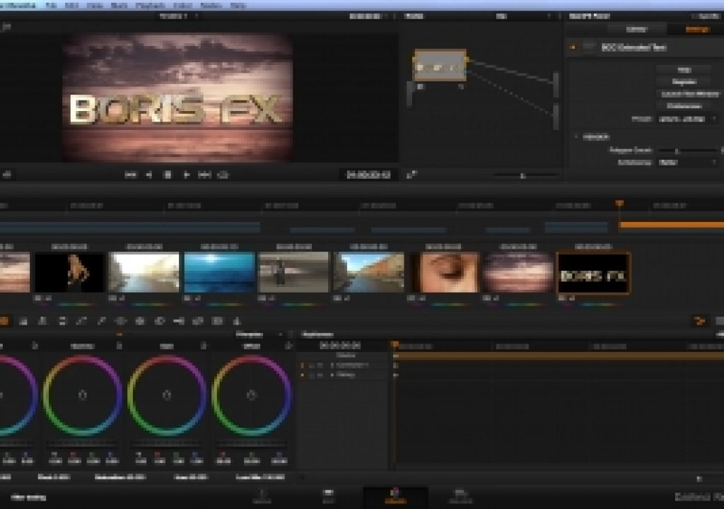 Boris FX Adds Blackmagic DaVinci Resolve Support to Boris Continuum Complete and RED Product Lines 3