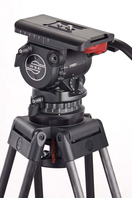 Sachtler introduces DV 10 SB fluid head 1