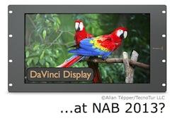 Will Blackmagic announce DaVinci Display at NAB 2013? 5