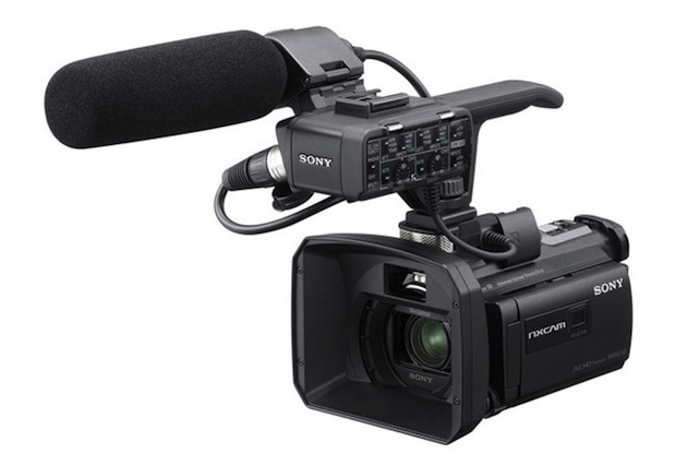 Sony quietly announces the NX30 camcorder, a little sister to the NX70 1