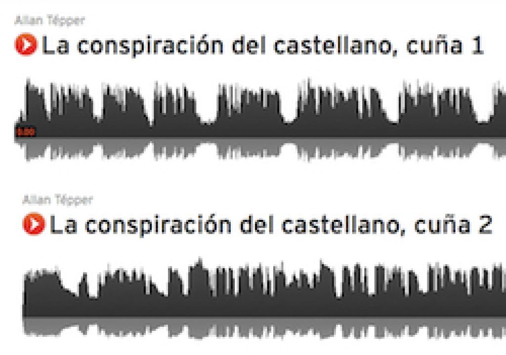 Radio spot production: 30-second spots for CASTILIAN CONSPIRACY books 31