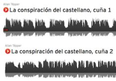 Radio spot production: 30-second spots for CASTILIAN CONSPIRACY books