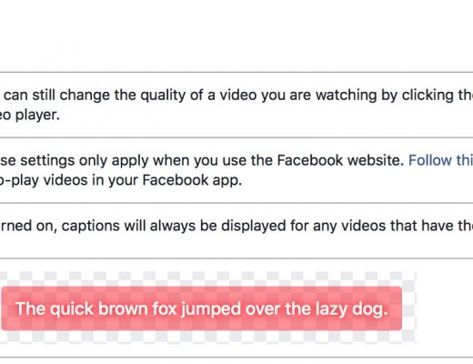 One more #28daysofQuickTips 2018 – Tips for creating captions for Facebook 17