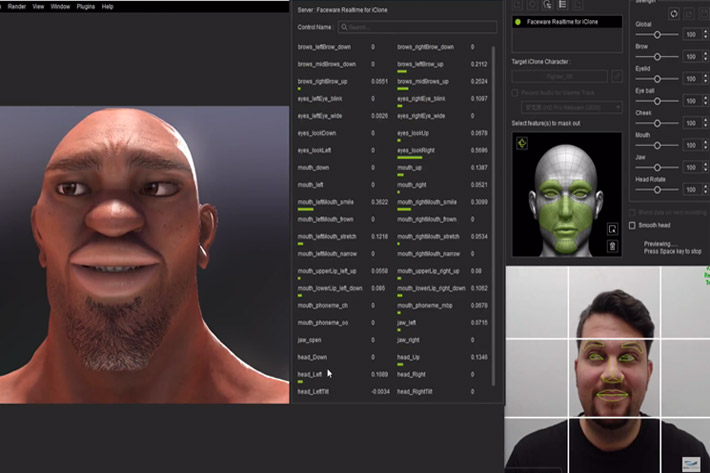 Faceware Realtime: face mocap and animation for every creator