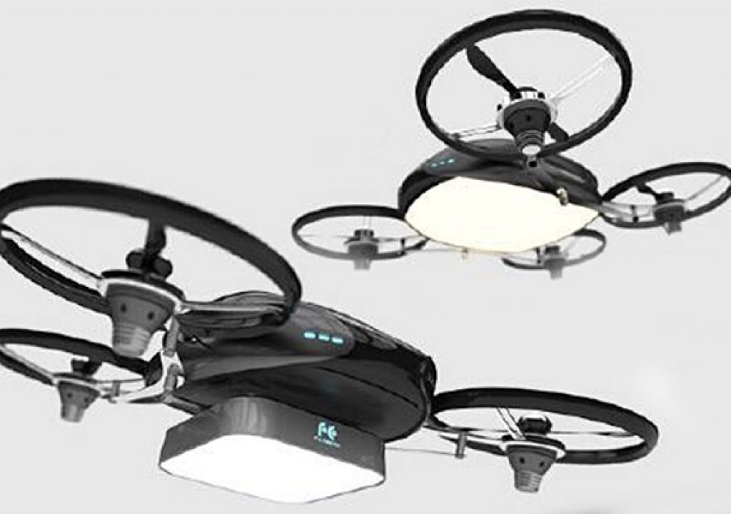 Falcon Fly: A Drone with Light 1