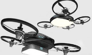 Falcon Fly: A Drone with Light