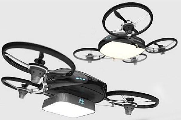 Falcon Fly: A Drone with Light 4