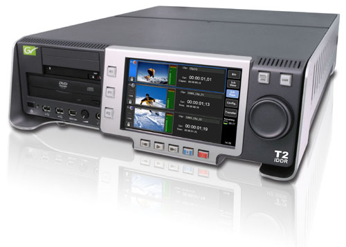 Grass Valley Increases Workflow Efficiency for T2 Intelligent Digital Disk Recorder 1