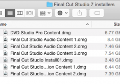 Installing and editing with Final Cut Pro 7 on a new Macbook Pro with Yosemite