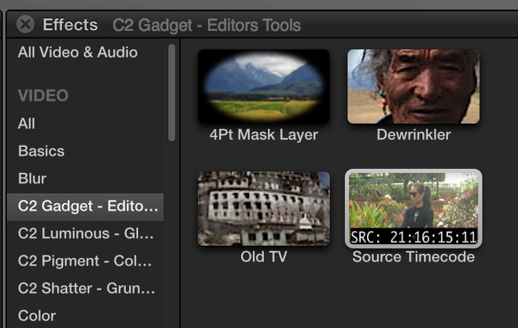 fcpx coremelt source tc browser