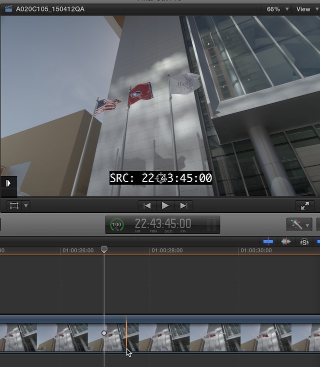 fcpx coremelt source tc