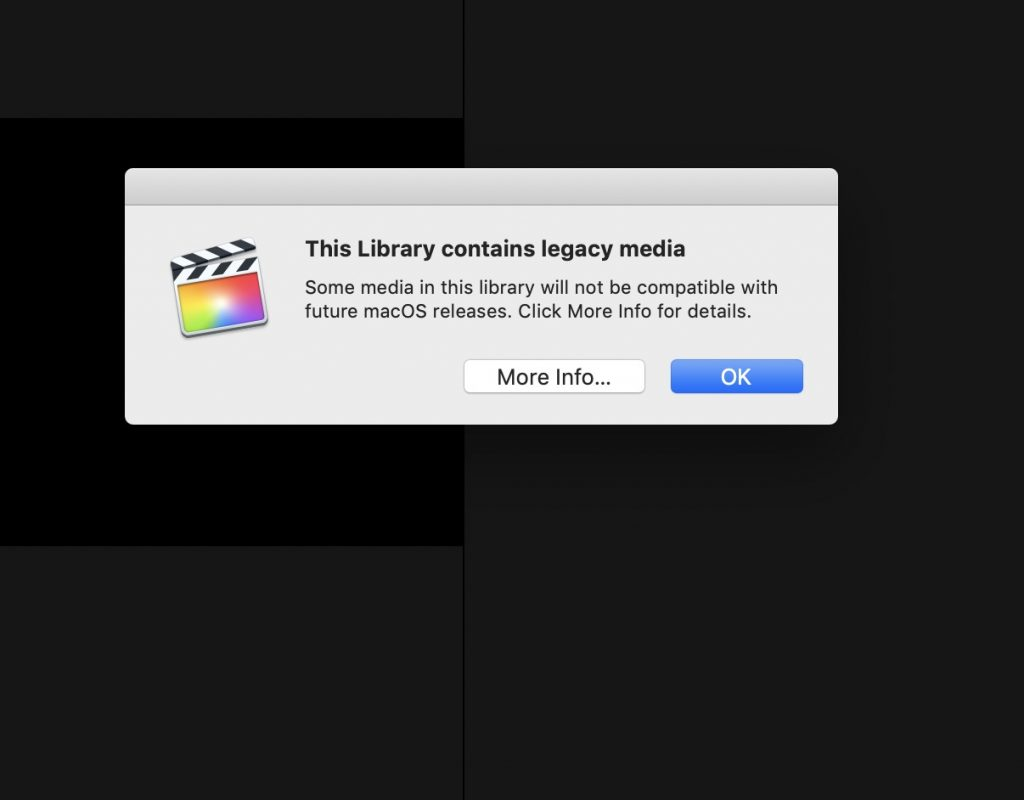 "Apple clarifies the ""legacy media warning"" with an update to their Knowledge Base article 4"