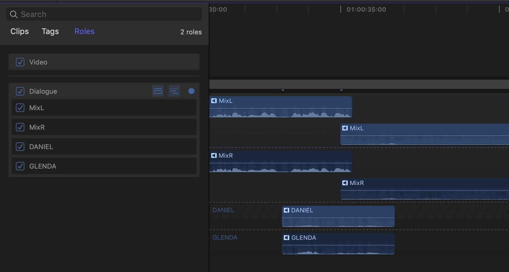 Adobe and Avid need to support iXML metadata for audio channels in the timeline 8