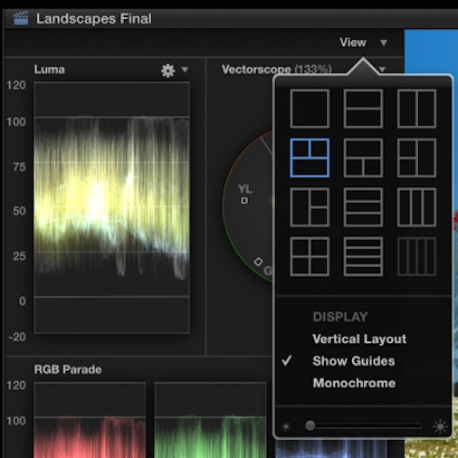 fcpx new scopes