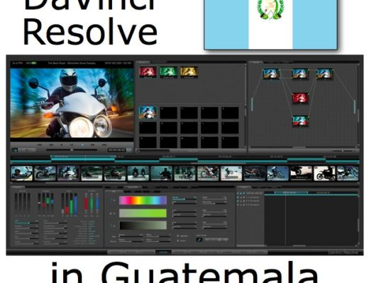 DaVinci Resolve training at Staff/HDTV in Guatemala 2