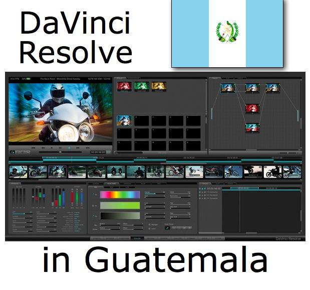 DaVinci Resolve training at Staff/HDTV in Guatemala 1