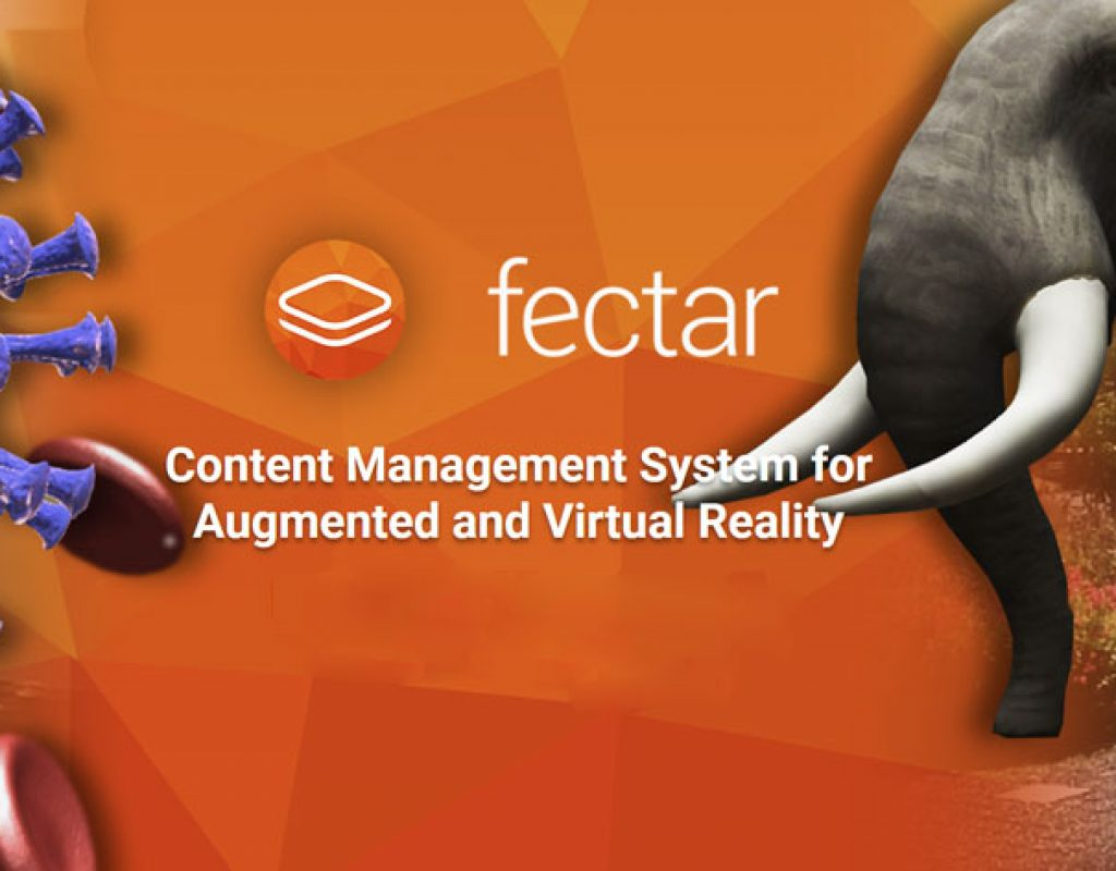 Fectar Studio: a CMS to open VR and AR content creation to the masses 1