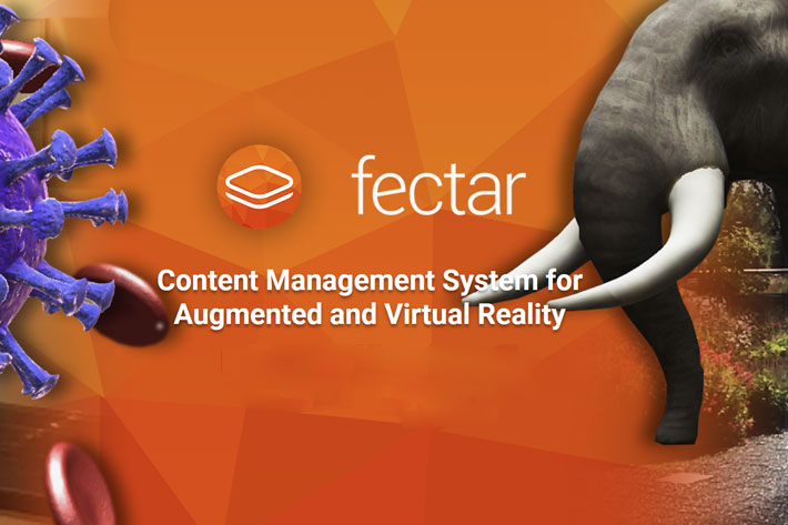 Fectar Studio: a CMS to open VR and AR content creation to the masses