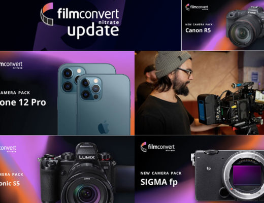 FilmConvert: all the new Camera Packs released in 2021