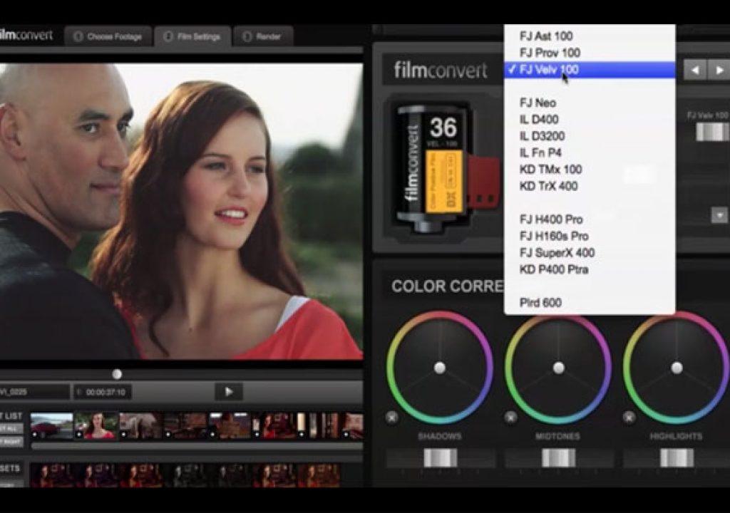 FilmConvert: new Canon and Sony profiles 1