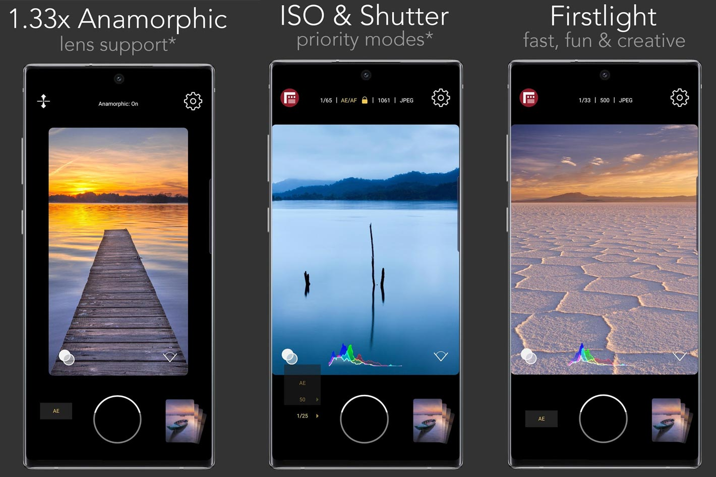 FiLMiC Firstlight for iOS and Android gets update