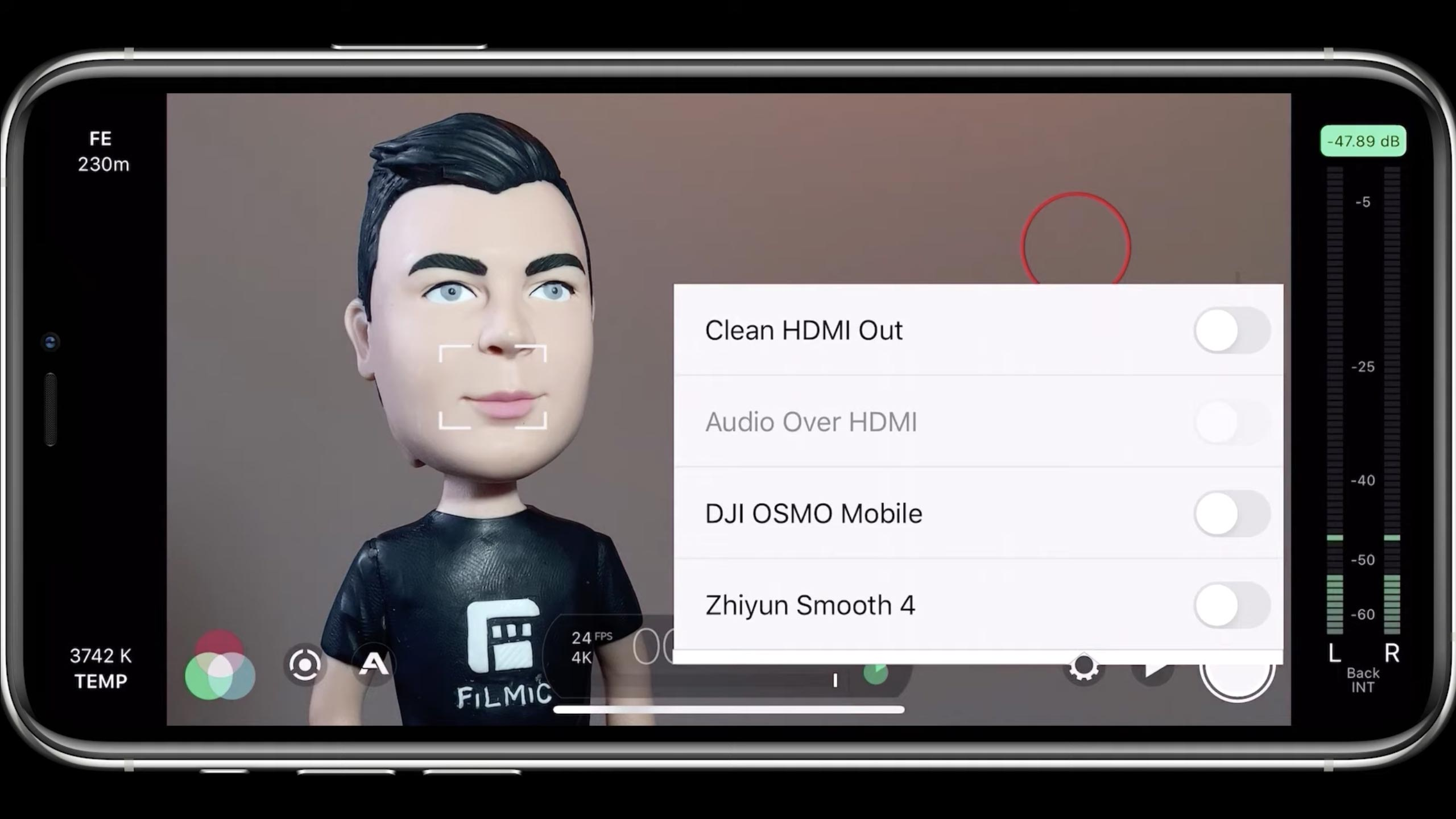 FiLMiC Pro cinema camera app gets Clean HDMI Output