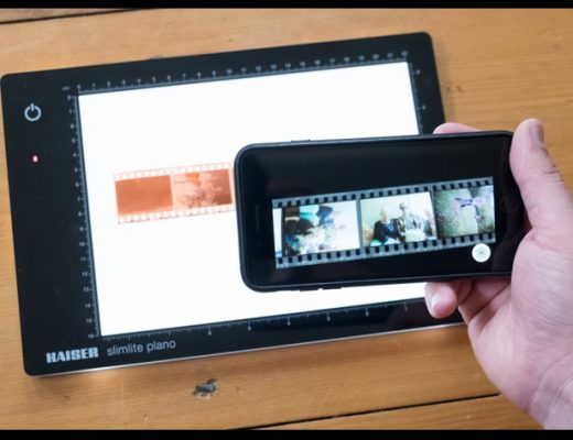 FilmLab: scan film with a smartphone