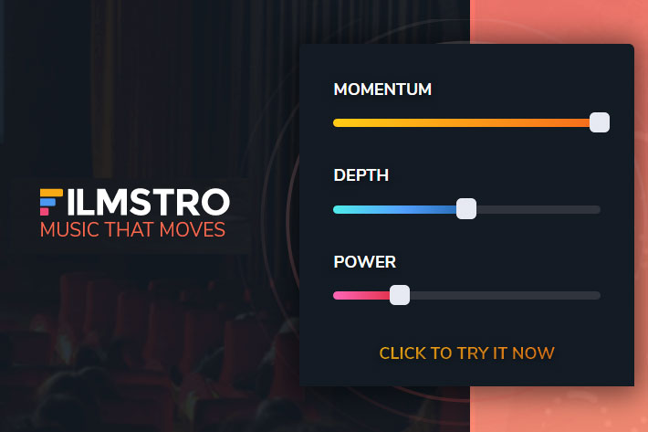 Filmstro: royalty-free music that you can control
