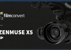 A camera profile for the Zenmuse X5