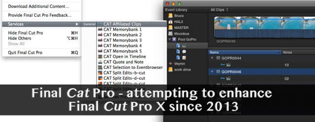 Final Cat Pro attempts to enhance FCPX with some missing features 12