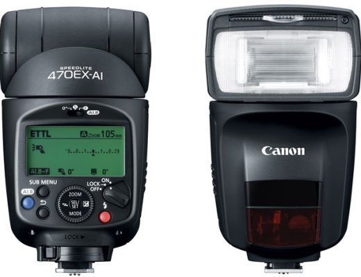 Canon Speedlite 470EX-AI: no radio, but auto bounce