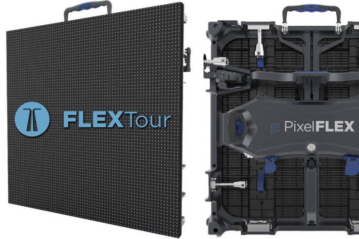 FLEXTour, a new curve-able LED display