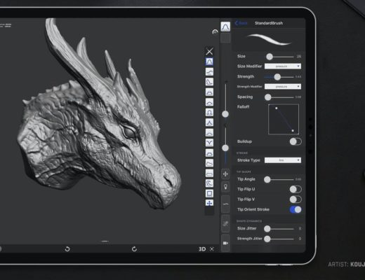 Maxon acquires digital sculpting iOS app forger