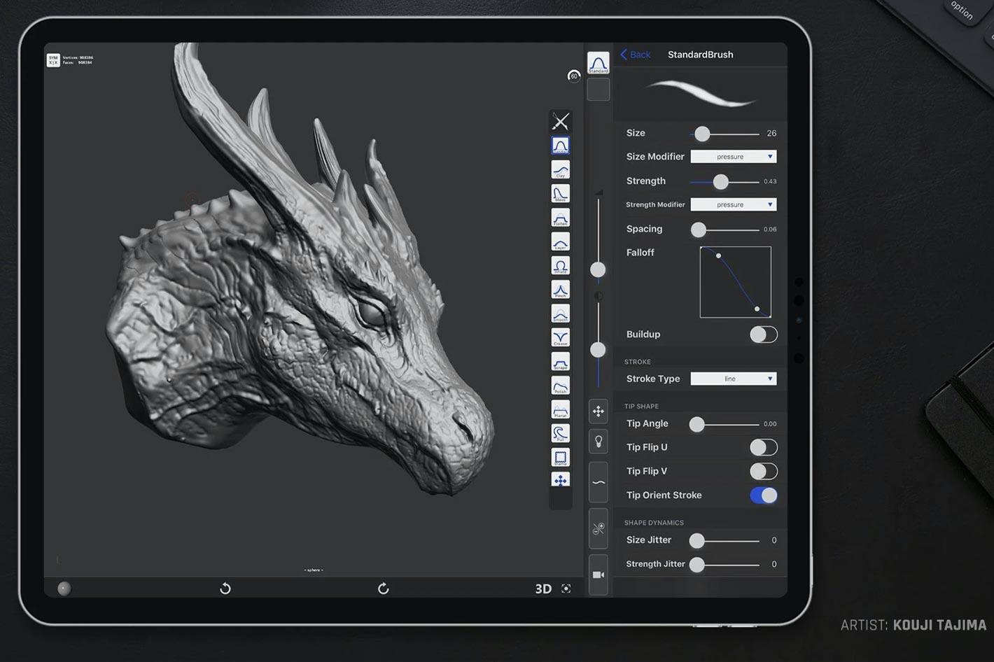 Maxon acquires digital sculpting app forger for iOS