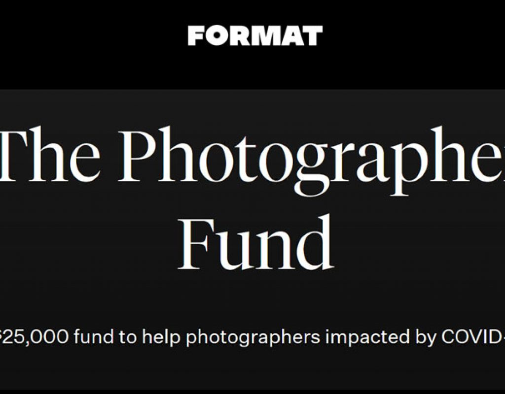 A Photographer Fund to help those impacted by COVID-19