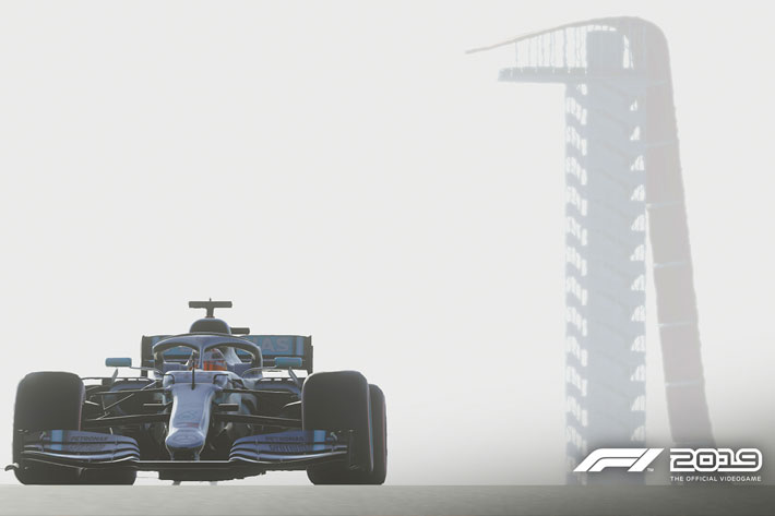 Formula 1 is the next sport broadcasting from inside a game