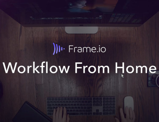 Workflow From Home Web Series with Frame.io 4
