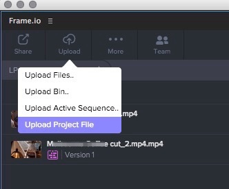 frameio-upload-project