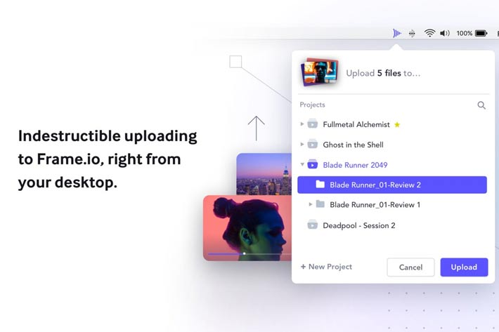 Frame.io debuts Watch Folders, a high-speed file transfer app