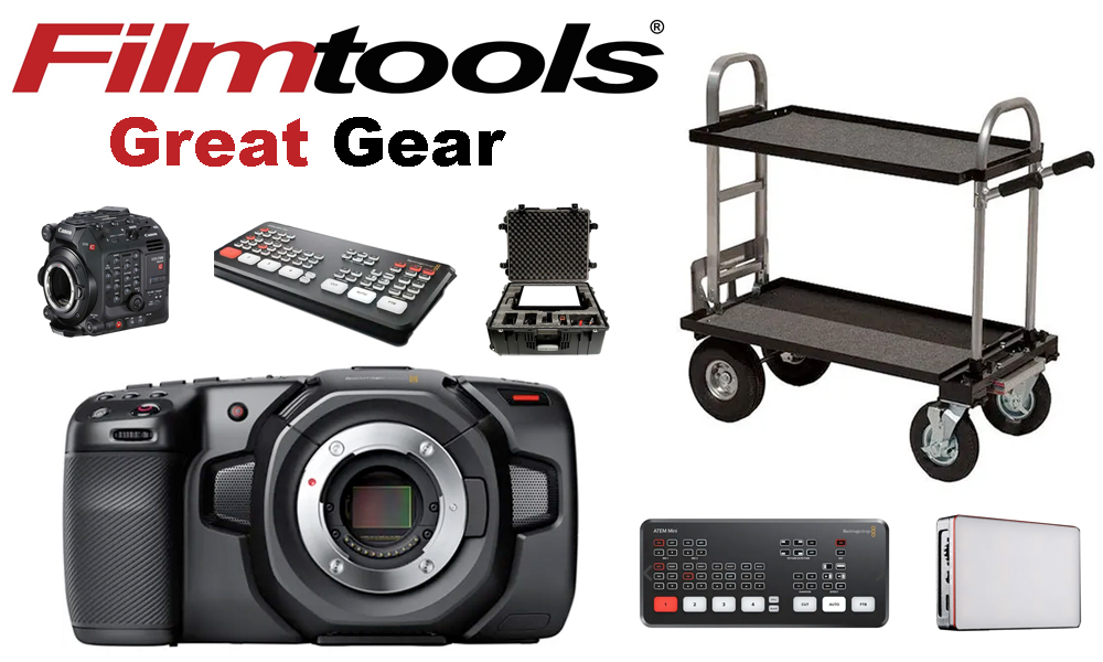 Great Gear from Filmtools: Affordable LED Lights, Converted Senior Carts, 4K Cinema Cameras and More 19