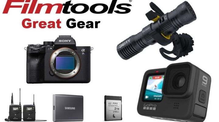 Great Gear from Filmtools: Exciting New Cameras, Light Panel Kits, Wireless Mic Systems and More 1