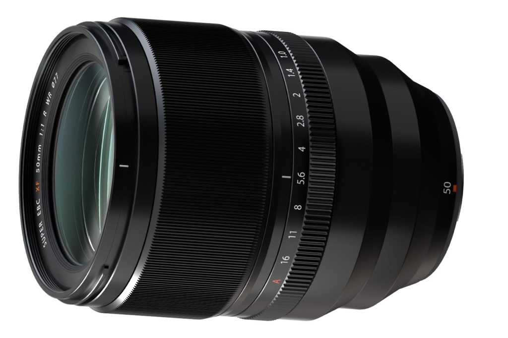 FUJINON F50mm F1.0 R WR: the world's first AF-capable F1.0