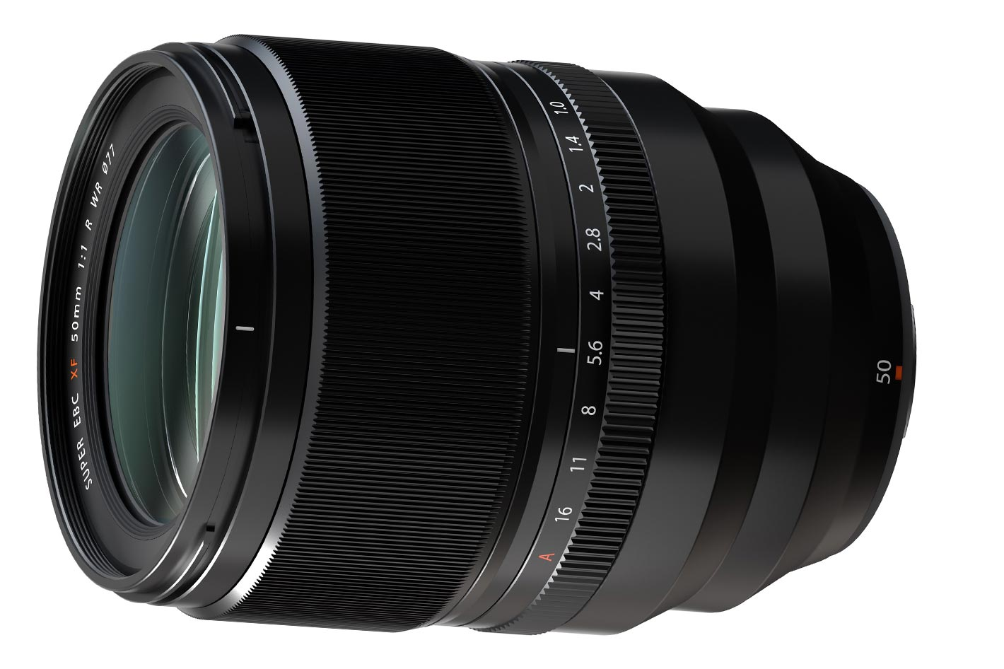 FUJINON XF50mm F1.0 R WR: the world's first AF-capable F1.0