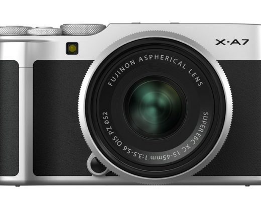 Fujifilm X-A7 mirrorless creates 4K video using data equal to 6K 5