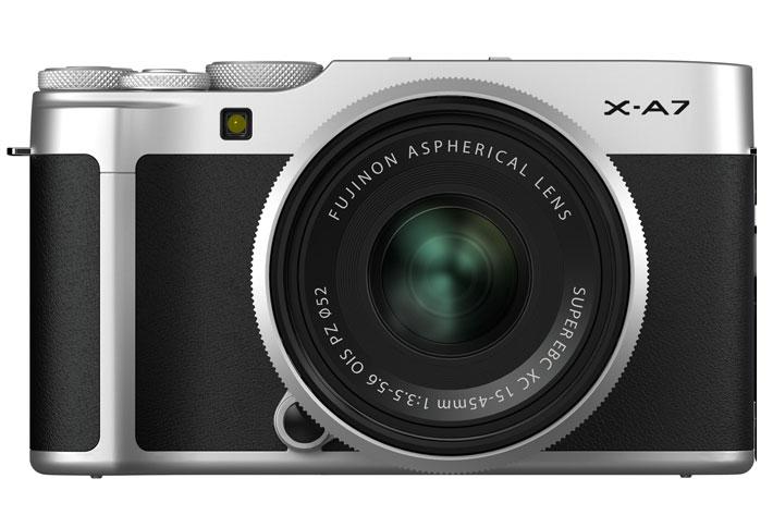 Fujifilm X-A7 mirrorless creates 4K video using data equal to 6K